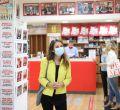 Andrea Levy acompaña a las librerías madrileñas en su reapertura