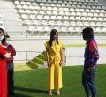 Villacís y Miranda asisten a la reapertura del Estadio Vallehermoso