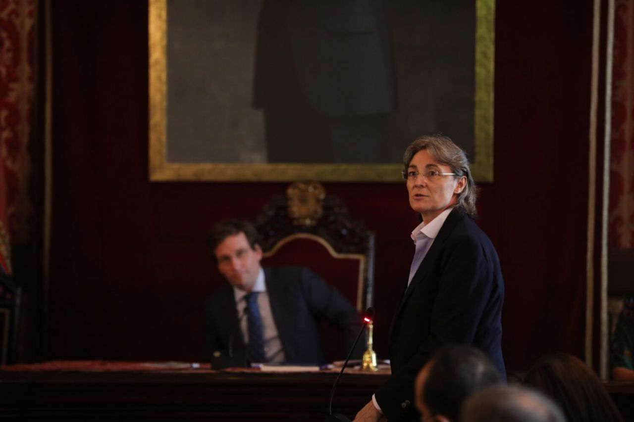 Marta Higueras, portavoz de Más Madrid