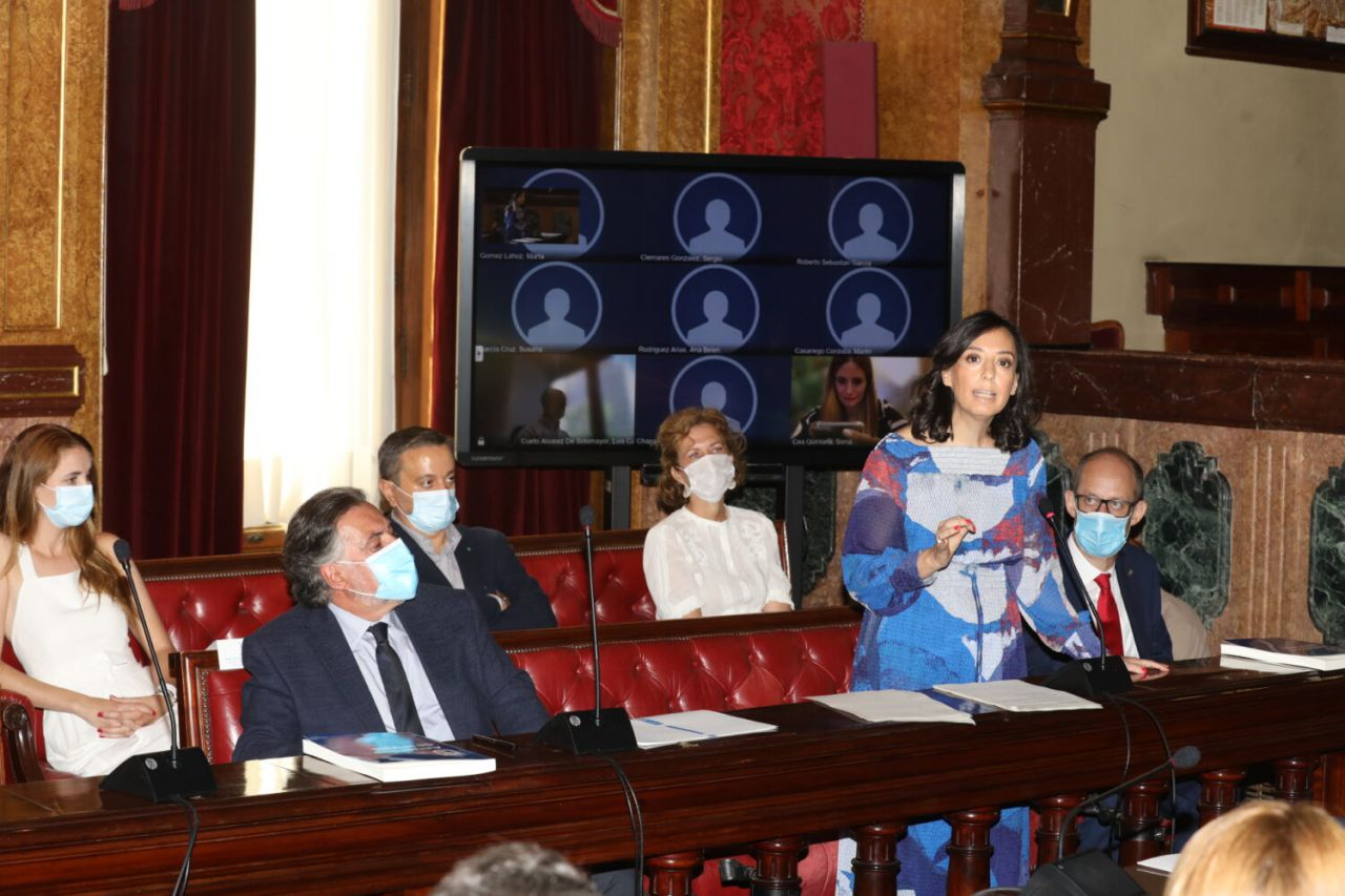 Mercedes González, concejala del PSOE