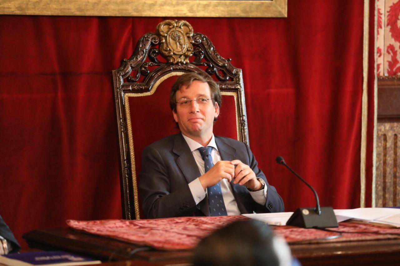 El alcalde, José Luis Martínez-Almeida
