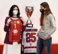 Díaz Ayuso celebra el éxito del deporte femenino madrileño