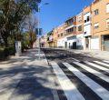 Concluye la primera fase de circunvalación del casco histórico de Barajas por la calle de Ayerbe
