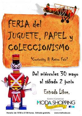Feria del juguete, papel y coleccionismo