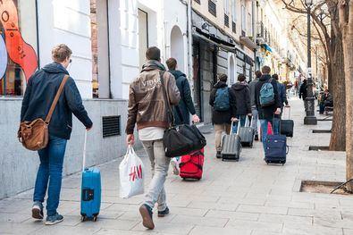 Temor en las comunidades con pisos turísticos