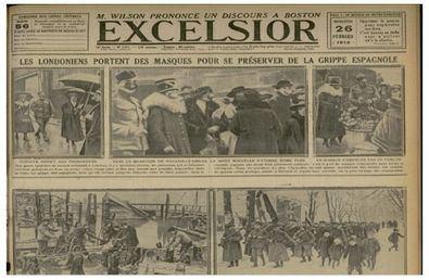 Se la conoció como la 'epidemia del día', la enfermedad de moda o 'el soldado de Nápoles', hasta que el corresponsal de 'The Times' la llamó como ha pasado a la historia: gripe española.