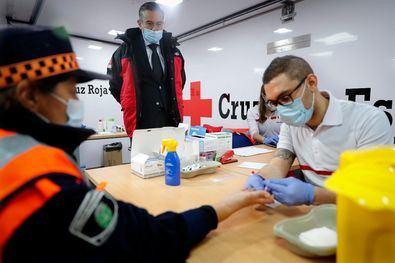 Estas pruebas se realizan en las instalaciones del Instituto para la Formación Integral en Seguridad de la Comunidad de Madrid, coordinados por la Agencia de Seguridad y Emergencias Madrid 112 y en colaboración con Cruz Roja.