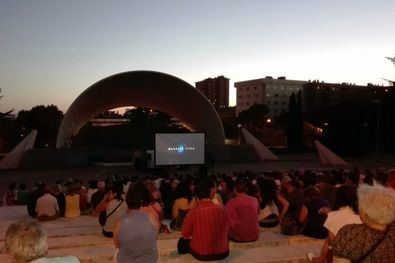 Cine de verano en el auditorio Pilar García Peña
