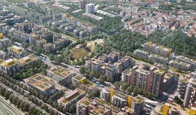 El desarrollo urbano Madrid Nuevo Norte supondrá una profunda regeneración de los distritos del norte de la capital, que cambiará el entorno de la estación de Chamartín y unirá Fuencarral con el barrio de Las Tablas, salvando la brecha que supone el viario de tren actual.
