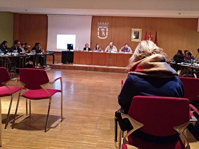 Imagen de archivo el pleno de la Junta de Salamanca.