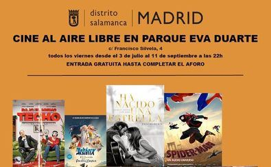 El parque Eva Duarte estrena un cine de verano