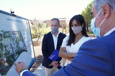 La vicealcaldesa de Madrid, Begoña Villacís, ha visitado la zona, que verá mejorada la calidad de vida de los vecinos del distrito de Chamberí.