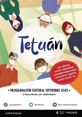 La actividad regresa a los tres centros culturales del distrito de Tetuán, con todas las garantías sanitarias