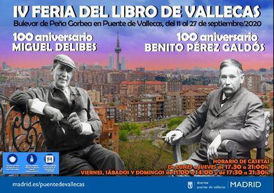 Durante su celebración, se conmemorarán los centenarios de la muerte de Benito Pérez Galdós y del nacimiento de Miguel Delibes.
