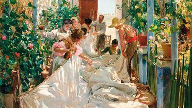 La exposición 'Sorolla. Femenino plural' recoge 36 cuadros en torno a la imagen de la mujer en la obra del pintor valenciano.