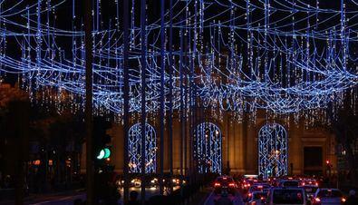 Reyes Magos, belenes y luces por Navidad
