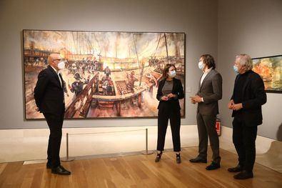 Trafalgar, en imágenes, en el Museo de Historia
