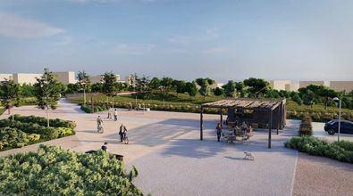 Con este parque, el desarrollo sumará más de cinco millones de metros cuadrados de zonas verdes, convirtiéndose en el gran pulmón del noreste de la ciudad.