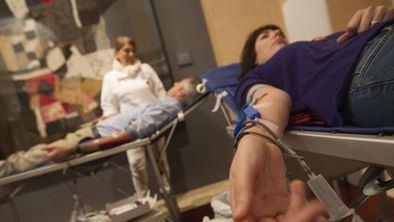El Centro de Transfusión de la Comunidad de Madrid solicita a los ciudadanos donaciones de los grupos sanguíneos 0-, 0+ y A+.