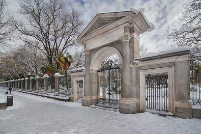 El Botánico, cerrado dos semanas a causa de Filomena
