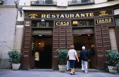 A la mesa con la historia madrileña
