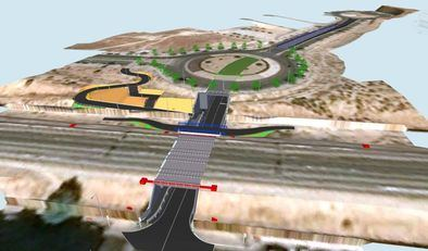 La actuación tendrá una longitud de 380 metros y contará con dos carriles para vehículos y una senda peatonal plenamente accesible.