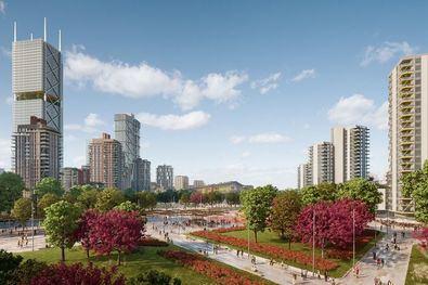 Madrid Nuevo Norte contará con 10.500 viviendas, 400.000 metros cuadrados de zonas verdes, 1,5 millones de metros cuadrados de oficinas y otros tantos dedicados a suelo dotaciones.
