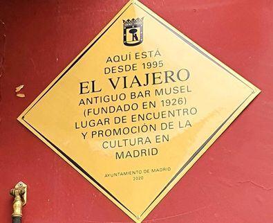 Este reconocimiento se enmarca en la recuperación de la memoria de un fragmento de la historia de Madrid, como son sus locales más conocidos.