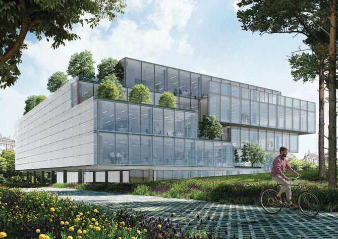 El proyecto ha sido realizado por el estudio de arquitectura Fenwick Iribarren Architects, responsables también de Caleo, en el ámbito de Cuatro Torres.