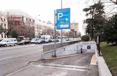 Cierra el parking de Recoletos, por daños estructurales