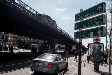 El elevado de Pedro Bosch une los distritos de Retiro y Puente de Vallecas, Pacífico con Méndez Álvaro.