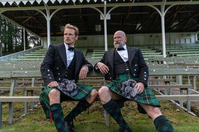 'Men in Kilts' recorre a modo de 'roadtrip' los lugares y tradiciones del corazón de Escocia, de la mano de los dos protagonistas más carismáticos de 'Outlander': Sam Heughan (Jamie) y Graham McTavish (Douglas MacKenzie).