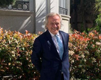 Hilario Alfaro, presidente de Madrid Foro Empresarial.
