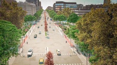 La instalación completa de las obras del Bulevar del Arte culminará, previsiblemente, antes de finalizar el primer semestre de 2023.