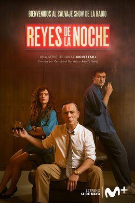 Javier Gutiérrez y Miki Esparbé son 'Reyes de la Noche' en la nueva serie sobre periodismo radiofónico