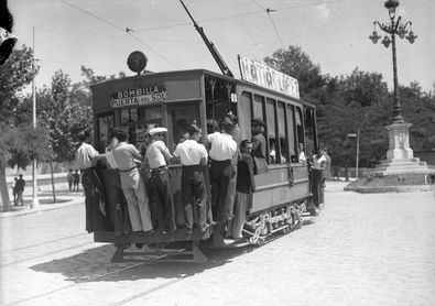 150 años de tranvía en Madrid