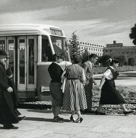 Una exposición virtual conmemora los 150 años de la puesta en marcha de la primera línea de tranvía de la capital