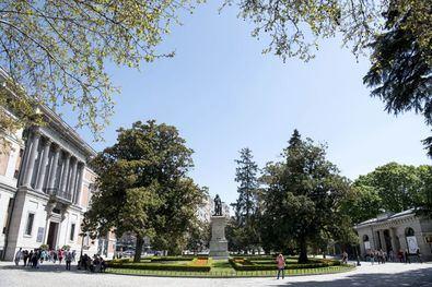 El bien que aspira a ser declarado Patrimonio de la Humanidad incluye el paseo del Prado entre Cibeles y la plaza del Emperador Carlos V, en Atocha, el parque de El Retiro y el barrio de los Jerónimos.