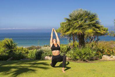 Los beneficios del yoga, en vacaciones