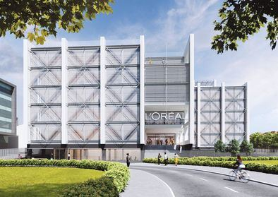 La filial española de L'Oréal inaugurará nueva sede sostenible en Madrid a finales de 2022, en la calle de Alcalá, 546.