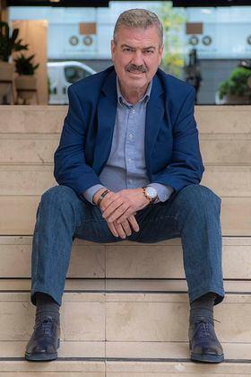 En la imagen, Luis Pacheco, comerciante de alimentación de Madrid y autor de este artículo.