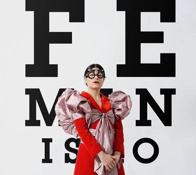 Tercera temporada de la obra de teatro 'Feminismo para torpes', de la periodista y humorista Nerea Peréz, en el Teatro del Barrio, desde este fin de semana.
