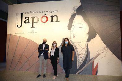 """La delegada de Cultura, Turismo y Deporte ha subrayado que """"esta muestra nos acerca al exquisito universo de la cultura japonesa y aporta un interés adicional a la oferta cultural de CentroCentro""""."""