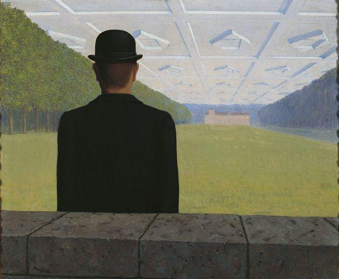 'El gran siglo' (Le Grand Siècle), 1954. Óleo sobre lienzo, 50 x 60. Kunstmuseum Gelsenkirchen.