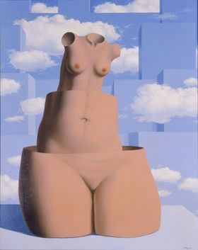 'Delirios de grandeza' (La folie des grandeurs), 1962. Óleo sobre lienzo, 100,3x81,3. The Menil Collection, Houston, 1978.