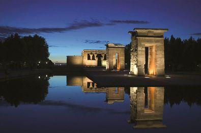 El Templo de Debod es uno de los puntos al aire libre del distrito en lo que se han programado actividades.