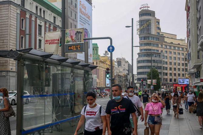 La Comunidad de Madrid entra en riesgo bajo por la COVID19, con una incidencia de 48,4 casos