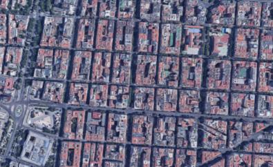 La cuadrícula del barrio de Salamanca lo convierte en candidato al proyecto de 'supermanzanas'