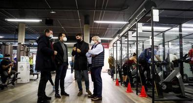 """El vicepresidente regional ha destacado que los gimnasios madrileños se han adecuado """"de manera ejemplar"""" a la realidad determinada por el COVID-19,"""