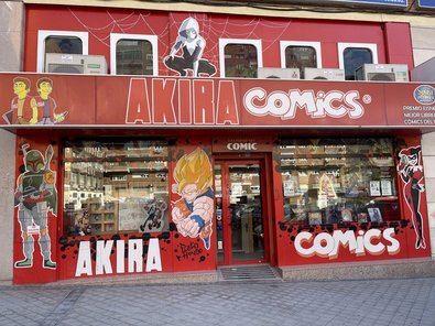 La librería especializada Akira Comics ha anunciado una nueva ampliación de sus instalaciones en el barrio de El Pilar, hasta ofrecer un total de mil metros cuadrados.